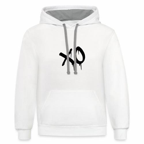 X O Design - Unisex Contrast Hoodie