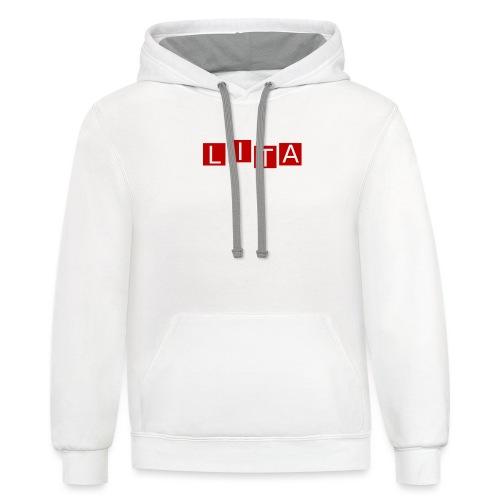 LITA Logo - Contrast Hoodie