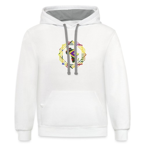 A & A AFRICA - Contrast Hoodie