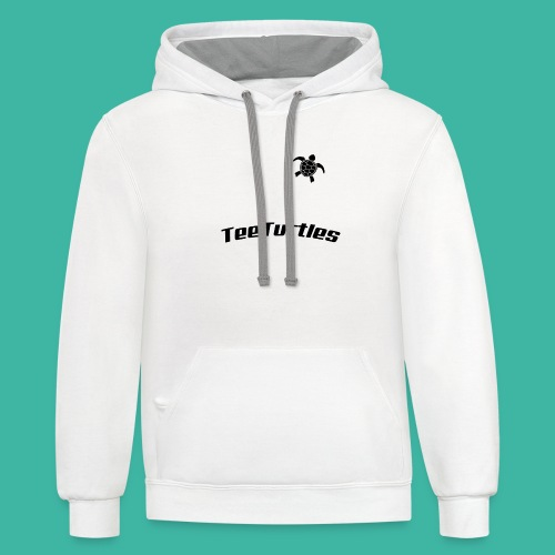 TeeTurtles (different style) - Contrast Hoodie