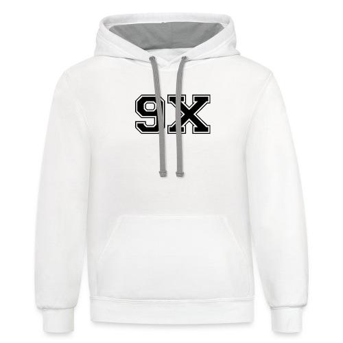 9xgood - Unisex Contrast Hoodie