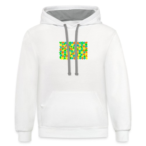 Dynamic movement - Contrast Hoodie