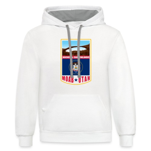 Utah - Moab, Arches & Canyonlands - Contrast Hoodie