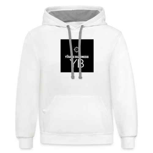 Young Business Hoodie - Contrast Hoodie