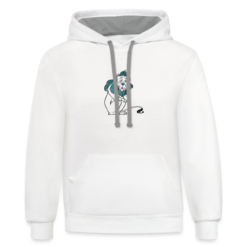 The Cowardly Lion - Contrast Hoodie