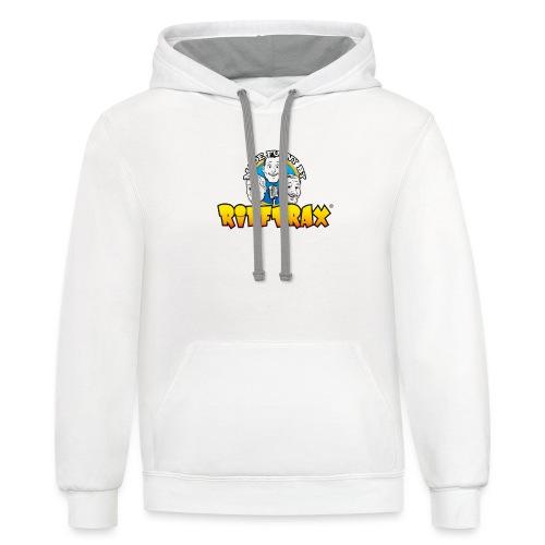 RiffTrax Made Funny By Shirt - Unisex Contrast Hoodie
