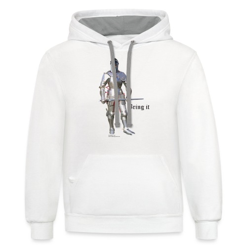 Plate Armor Bring it men's standard T - Contrast Hoodie