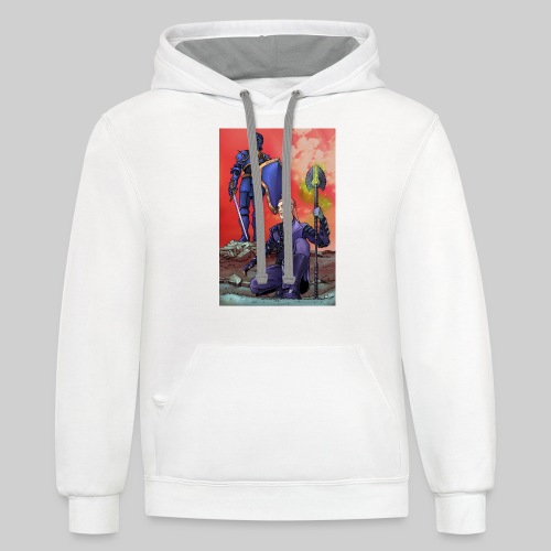 ELF AND KNIGHT - Contrast Hoodie
