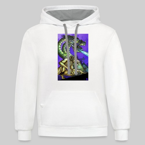 Hydra and Demon - Contrast Hoodie