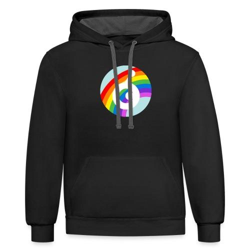 rainbow OST - Contrast Hoodie