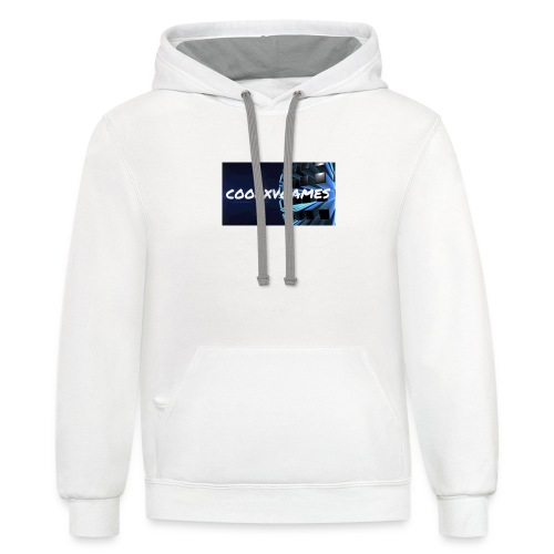 coolxvgames21 - Contrast Hoodie
