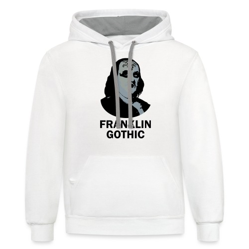 Franklin Gothic - Contrast Hoodie