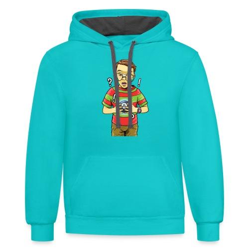 Waldo - Contrast Hoodie