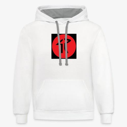 4R Logo - Contrast Hoodie
