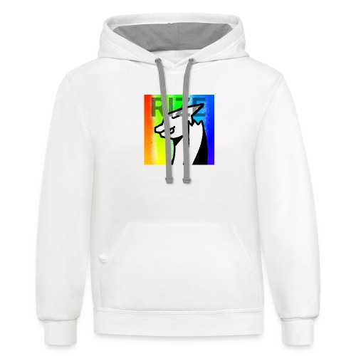 RIZE - Unisex Contrast Hoodie