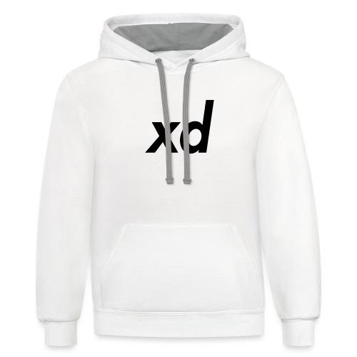 xd - Unisex Contrast Hoodie