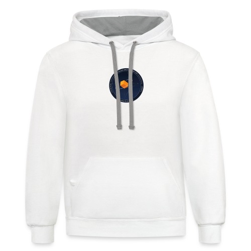 T SHIRT LOGO - Unisex Contrast Hoodie