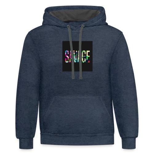 Savage Wear - Contrast Hoodie