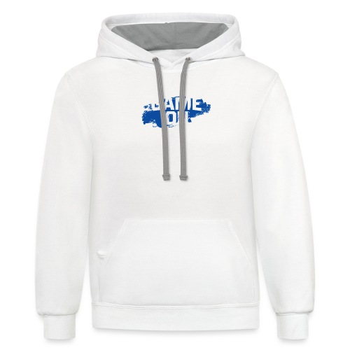 game on - Contrast Hoodie