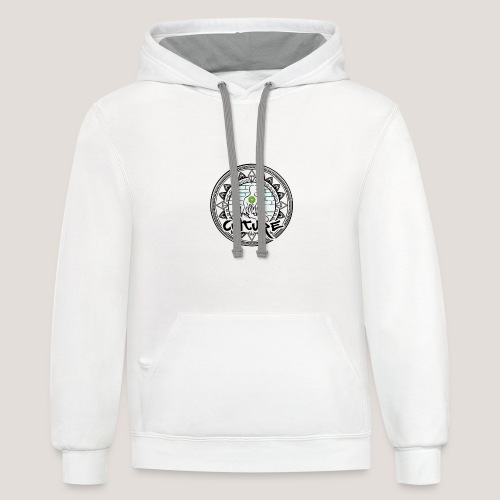 Wellness For the Culture Vintage - Unisex Contrast Hoodie