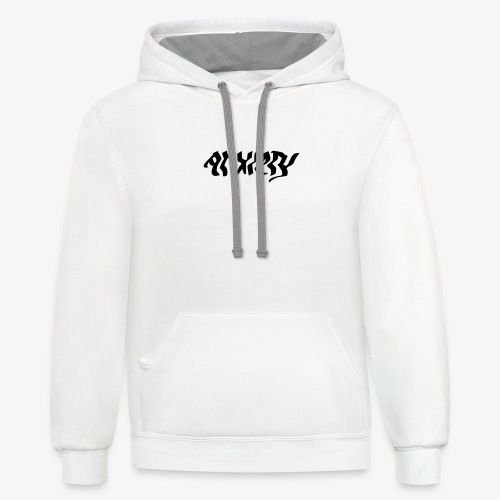 anxiety - Contrast Hoodie