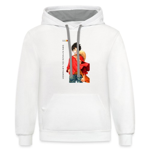 ONE PIECE SOLO - Unisex Contrast Hoodie