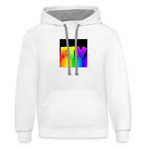 Other Rainbow Option - Contrast Hoodie