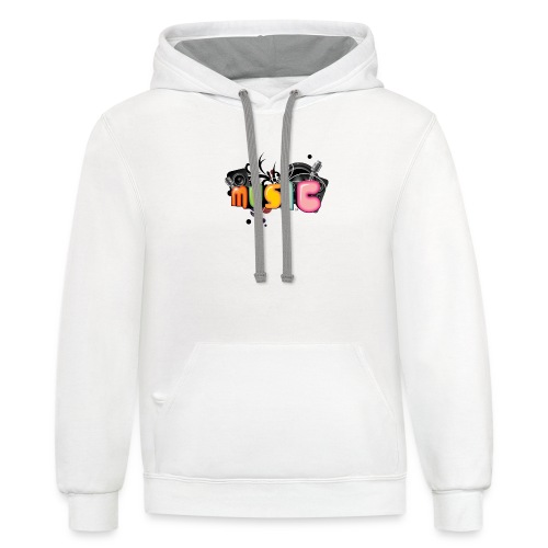 Music edition - Contrast Hoodie