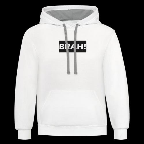 BRAH - Contrast Hoodie