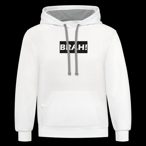 BRAH - Unisex Contrast Hoodie