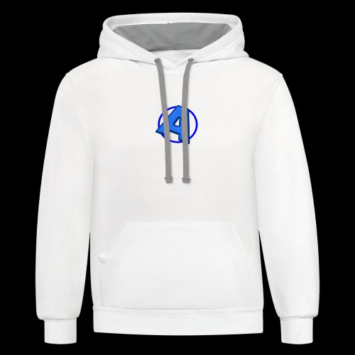 Awesomegamer Logo - Contrast Hoodie