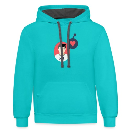 the OSTonian - Contrast Hoodie