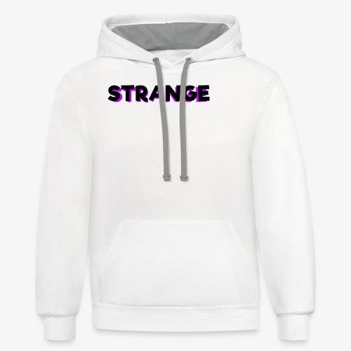 Strange Logo - Contrast Hoodie