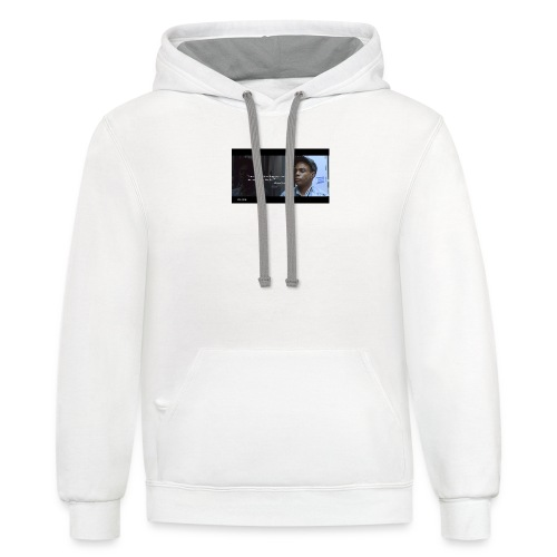 Shawn/ Coco - Unisex Contrast Hoodie