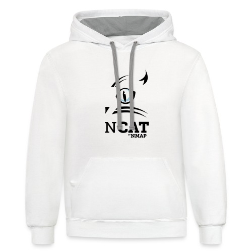 nmap ncat - Unisex Contrast Hoodie