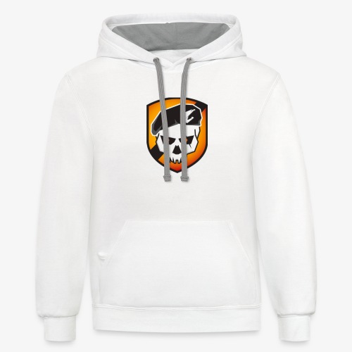 call of duty devil - Unisex Contrast Hoodie