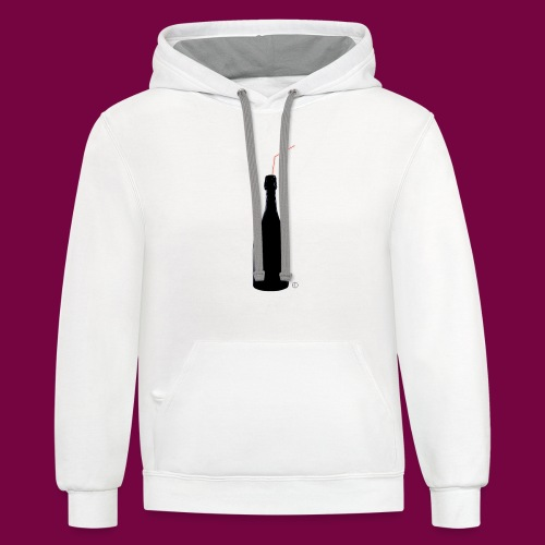 Classy Champagne - Unisex Contrast Hoodie