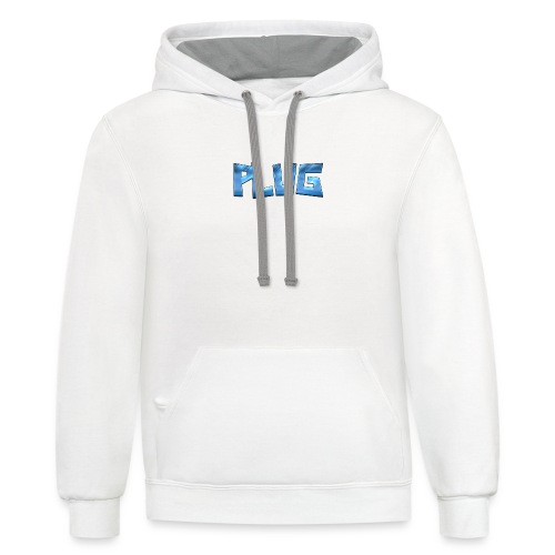 Cool Text PLUG 321607890516880 - Unisex Contrast Hoodie