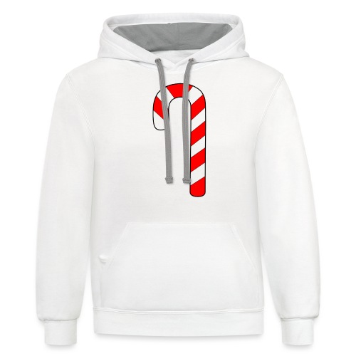 Candy Cane - Contrast Hoodie