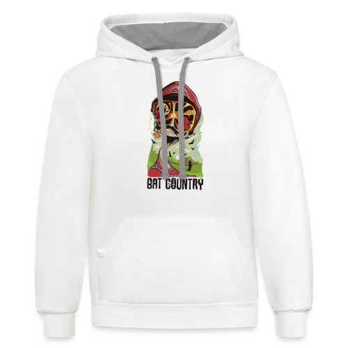 Fear and Mario at Bat Country - Contrast Hoodie