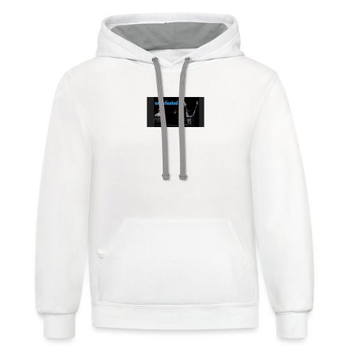Undefeated - Unisex Contrast Hoodie