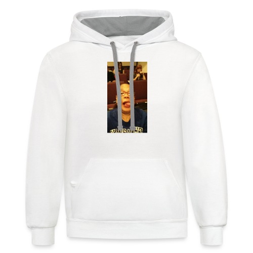 GET SMITHY WITH IT - Contrast Hoodie