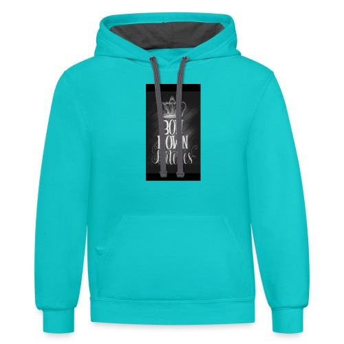 Bow to the Queen - Contrast Hoodie