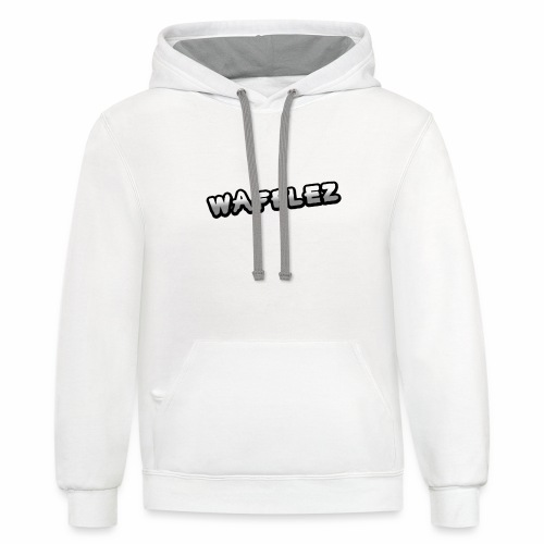 Official Wafflez Shirts - Unisex Contrast Hoodie
