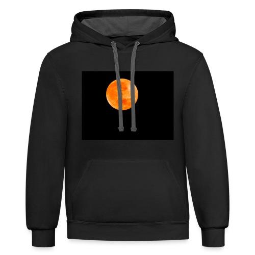 Blood Moon - Contrast Hoodie