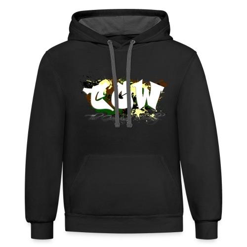 TGW Camo edition - Contrast Hoodie