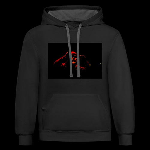 Scary face - Contrast Hoodie