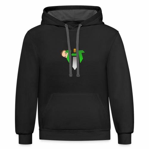 Hype Logo Toon - Contrast Hoodie