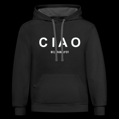 CIAO - Contrast Hoodie