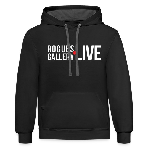 Rogues Gallery LIVE - Contrast Hoodie